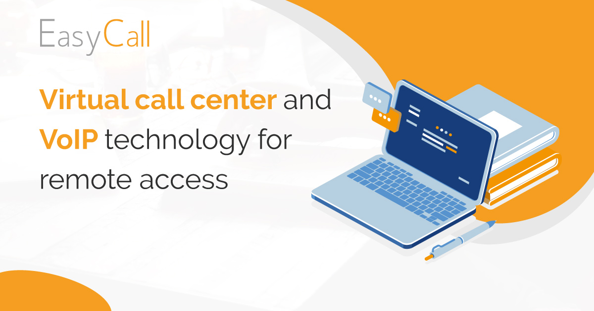Virtual call center and VoIP technology for remote access
