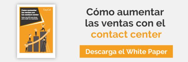 como aumentar las ventas con el contact center